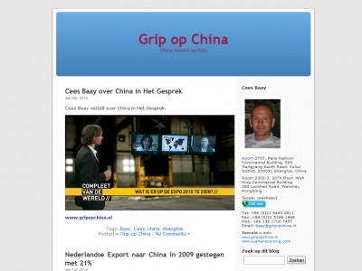 Blog Grip op China door: Indysign Communicatie Amsterdam :: website, huisstijl, logo, cursus onderhoud